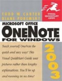 OneNote 2007 Introduction Quick Reference Guide (Cheat Sheet of Instructions, Tips & Shortcuts - Laminated Card)