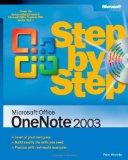 Microsoft Office OneNote 2003 Step by Step (Step by Step (Microsoft))