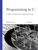 Programming in C (3rd Edition)