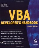 VBA Developer's Handbook, 2nd Edition