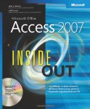Microsoftu00ae Office Access(TM) 2007 Inside Out (Microsoft Office Access Inside Out)