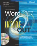 Microsoftu00ae Office Word 2007 Inside Out
