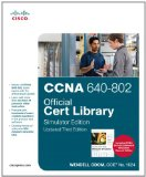 CCNA 640-802 Official Cert Library, Simulator Edition, Updated (3rd Edition)