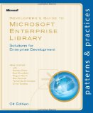 Developer's Guide to Microsoft Enterprise Library, Visual Basic Edition (Patterns & Practices)