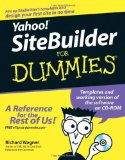 Yahoo! SiteBuilder For Dummies (For Dummies (Computers))