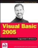Visual Basic 2005 Programmer's Reference (Programmer to Programmer)