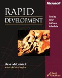 Rapid Development: Taming Wild Software Schedules