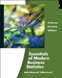 Essentials of Modern Business Statistics (with Online Material Printed Access Card) (Available Titles Aplia)