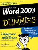 Microsoft Office Word 2003 Bible