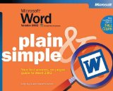 Microsoft Word Version 2002 Plain & Simple (Bpg Plain & Simple)