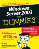Microsoftu00ae Windows Server(TM) 2003 Administrator's Pocket Consultant, Second Edition