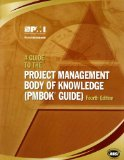 A Guide to the Project Management Body of Knowledge: (Pmbok Guide,4e)