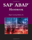 SAP ABAP Handbook (The Jones and Bartlett Publishers Sap Book Series)