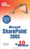 SharePoint 2003 User's Guide (Expert's Voice)