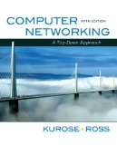Computer Networking: A Top-Down Approach (5th Edition)