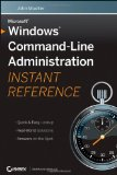 Windows Command-Line Administrator's Pocket Consultant, 2nd Edition
