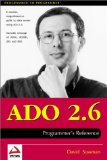 ADO 2.6 Programmer's Reference