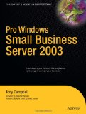 Pro Windows Small Business Server 2003