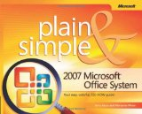 2007 Microsoftu00ae Office System Plain & Simple