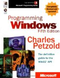 Programming Windowsu00ae, Fifth Edition (Microsoft Programming Series)