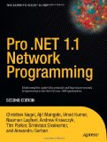 Pro .NET 1.1 Network Programming, Second Edition