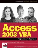 Microsoftu00ae Office Access 2003 Inside Out (Bpg-Inside Out)