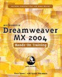 Macromedia Dreamweaver MX 2004 Hands-On Training