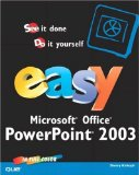 Easy Microsoft Excel 2003 (2nd Edition)