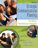 Strategic Communications Planning for Effective Public Relations and Marketing