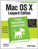 Switching to the Mac: The Missing Manual, Snow Leopard Edition