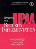 Handbook for Hipaa Security Implementation: Spiral Binding