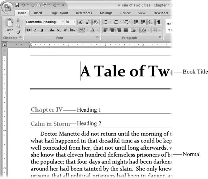 Q. When writing a paper, do I use italics for all titles?