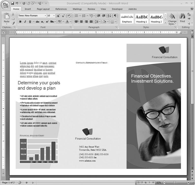brochure template word 2007 - free brochure microsoft publisher templates lindwoodsg