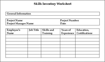 Printables Skills Inventory Worksheet vested interest breakdown comptia project study guide exam pk0 003 click to expand