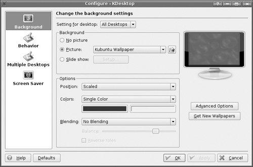 Customizing Kubuntu | The Official Ubuntu Book