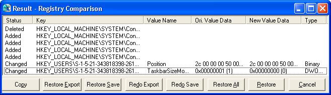 Comparing REG Files | Microsoft Windows Registry Guide