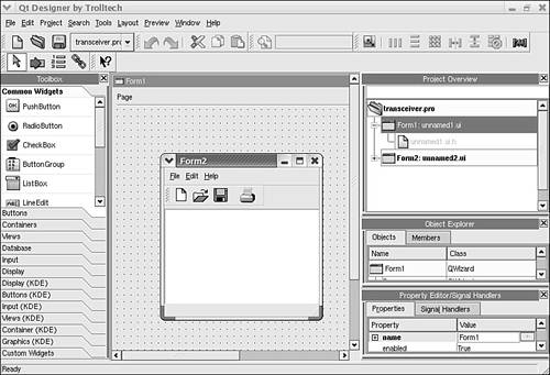Graphical Development Tools | Red Hat Fedora 4 Unleashed