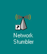 Figure 2.11: The Network Stumbler Desktop Icon