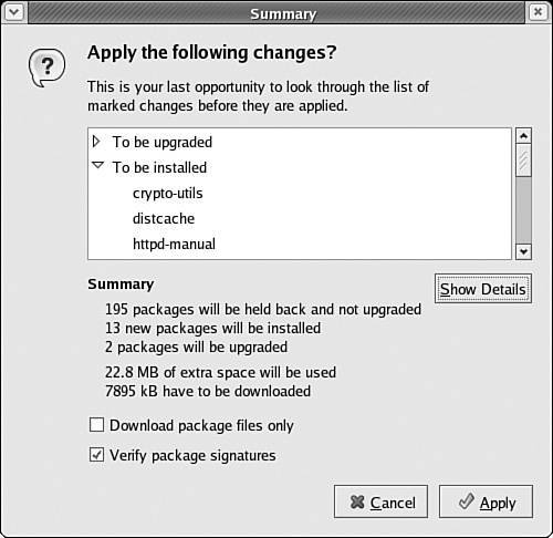 Section 5 2  Configuring APT for RPM   Linux Patch