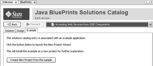 Getting the Most from the Java BluePrints Solutions Catalog
