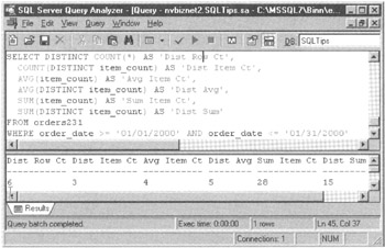 Working with Functions, Parameters, and Data Types | SQL