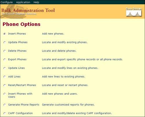 The Cisco Bulk Administration Tool | Cisco Bulk