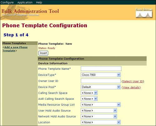 The Cisco Bulk Administration Tool | Cisco Bulk