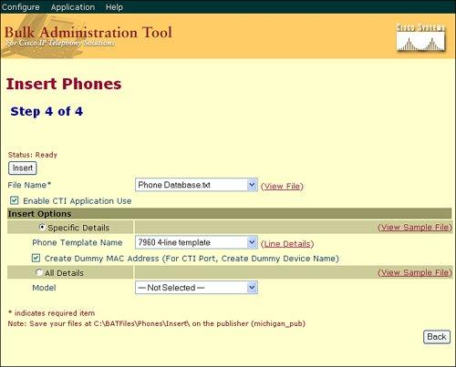 The Cisco Bulk Administration Tool | Cisco Bulk Administration Tool