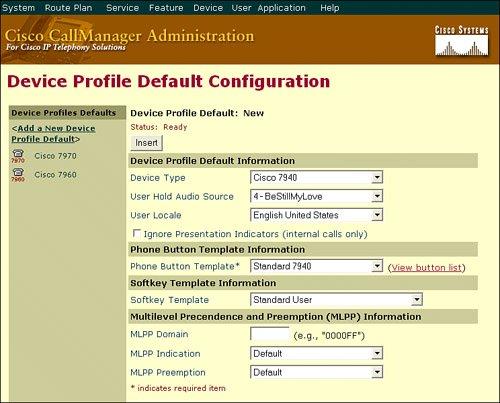 Cisco CallManager Extension Mobility | Configuring User