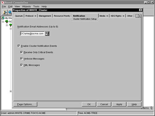 Installing Novell Cluster Services | CNE Update to NetWare ...