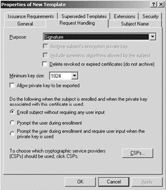 152 certificate enrollment windows server 2003 security figure 153 setting autoenrollment permissions on the certificate template level yelopaper