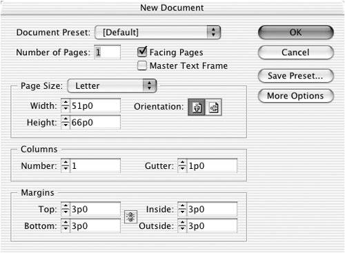 how to set page number on master page indesign