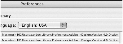 how to delete indesign preferences