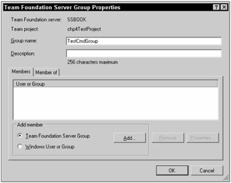 Managing Security Groups in Team Foundation Server | Professional